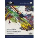 ESSENTIAL ACRYLIC ARTIST PAD A4 22 SHEETS by ROYAL & LANGNICKEL